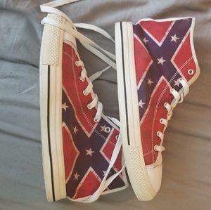 Shoes   New Confederate Rebel Flag
